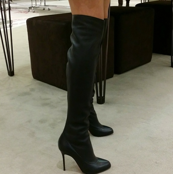 382bb45b1cc Christian Louboutin Shoes - Christian Louboutin OTK Sempre Monica Tall Boots